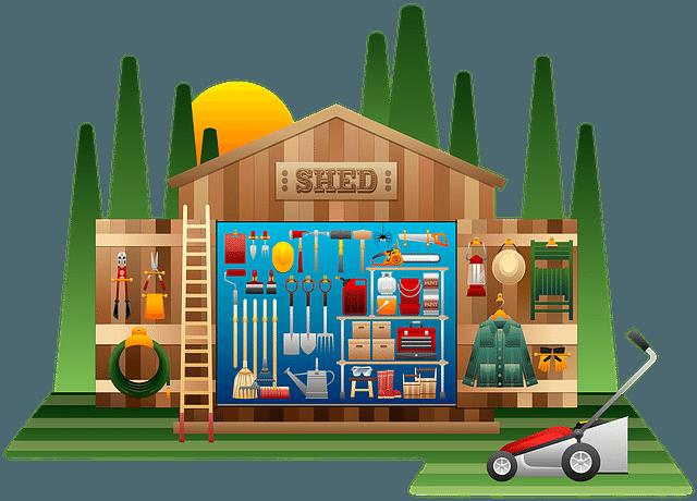 garden shed gardening tools perth