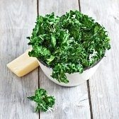 kale in bowl grown in garden Perth