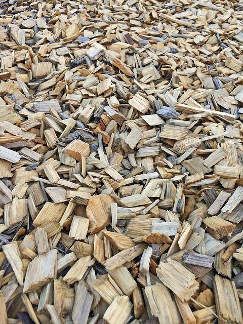 bark mulch in perth garden