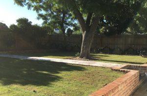 brick pathway in Perth garden design